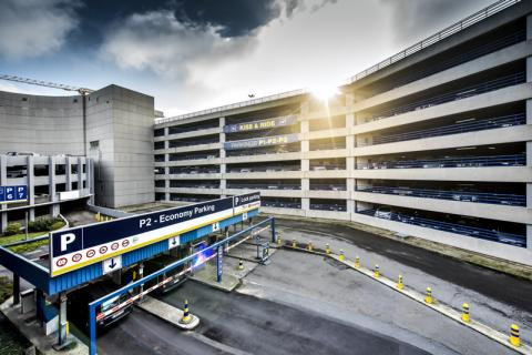 Brussels airport Interparking